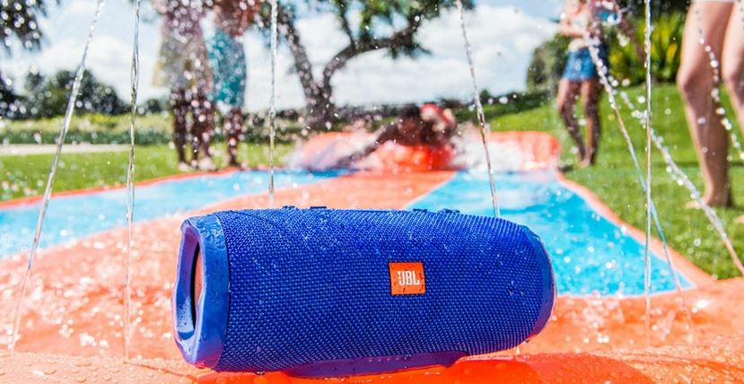 Modern Tunes in a Vintage Car: The JBL Charge 3 Bluetooth Speaker