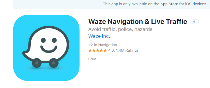 Review: Waze APP - Navigation, Traffic Avoidance, and Police