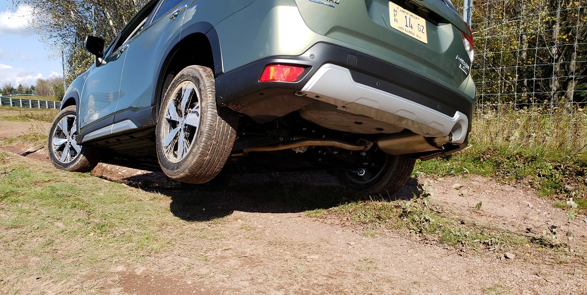 Off Road In The All New 2019 Subaru Forester Capability