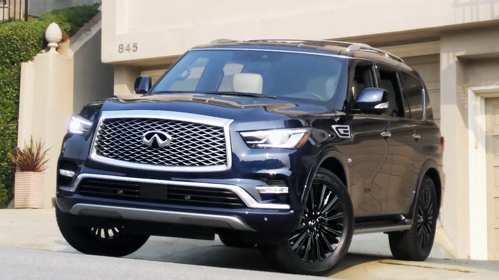 Review 2019 Infiniti Qx80 Limited 4wd Boldness Writ Large