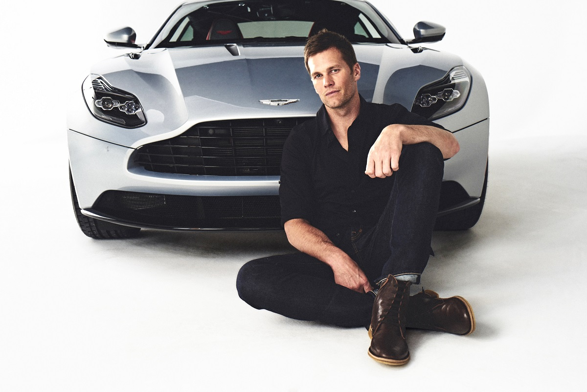 Look For Tom Brady Driving An Aston Martin At The Super Bowl Bestride
