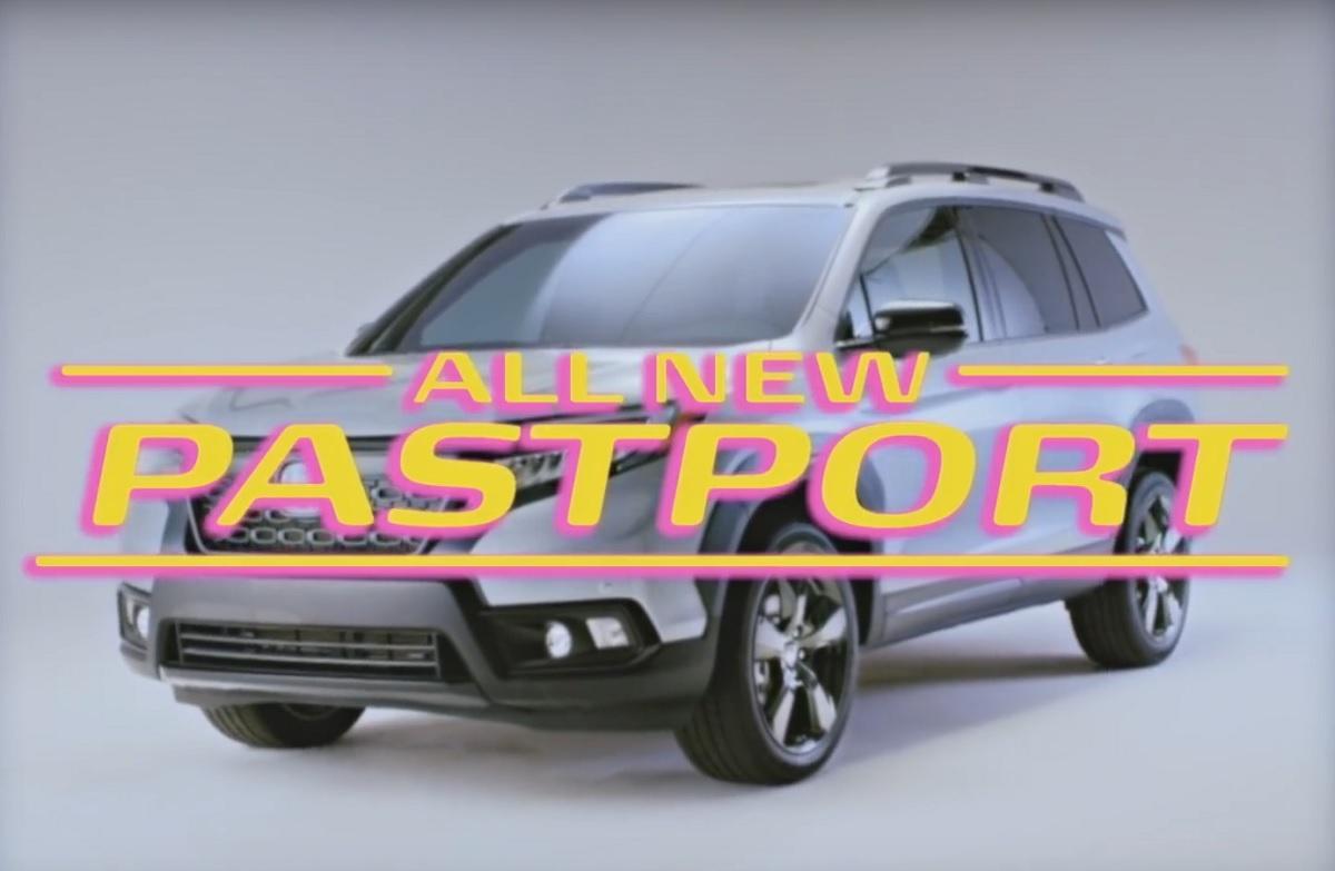 Honda Passport Gets Retro Pastport Trim Bestride