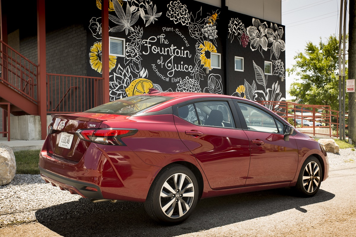 The All New 2020 Nissan Versa Offers The Right Features At