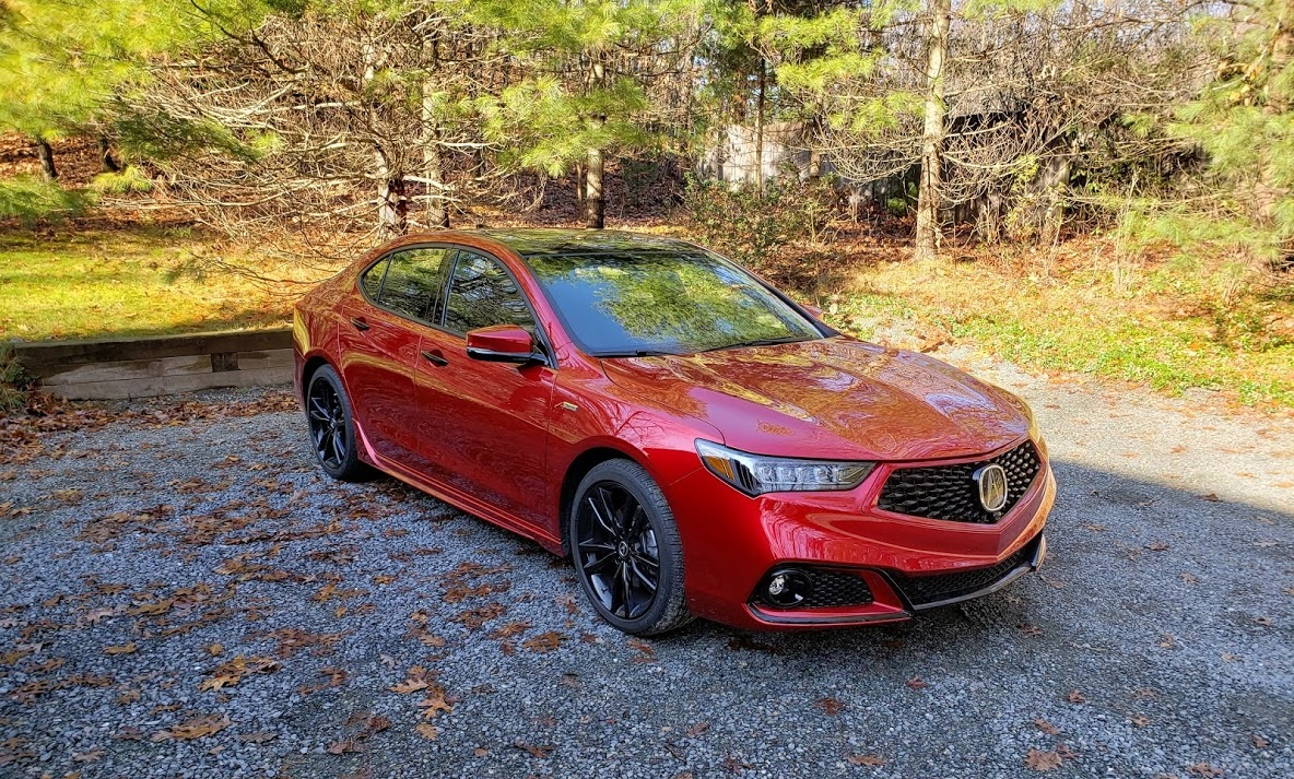 2020 Acura Tlx 3 5l Sh Awd Pmc Shines In Our Wicked Wintah Weathah Test Bestride