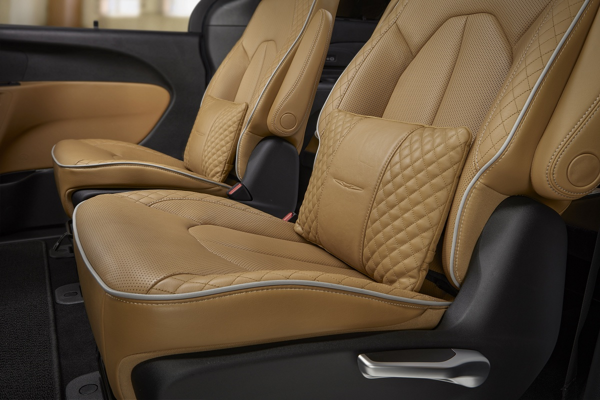 2021 Chrysler Pacifica Seating