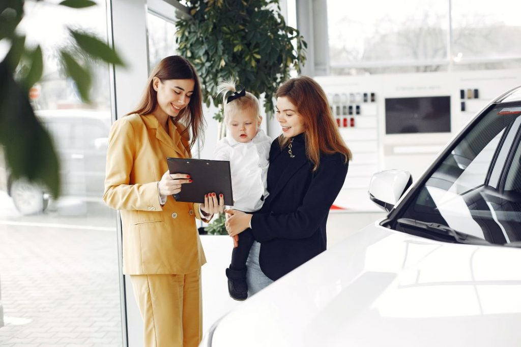 There are lots of steps to consider when buying a new vehicle.