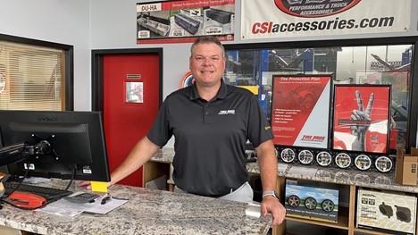 Korey Cutlip, owner of Regal Auto Care Tire Pros in Auburn, WA
